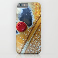 Red Button iPhone 6s Slim Case