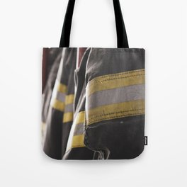 Firefighter Jackets Tote Bag
