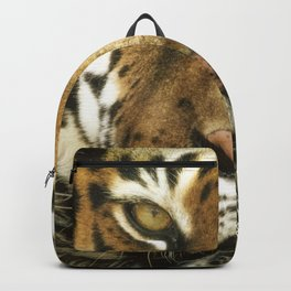 Face of Tiger Backpack