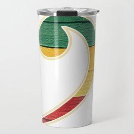 Colorful Bass Clef Travel Mug