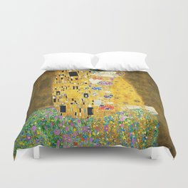 Gustav Klimt The Kiss Duvet Cover