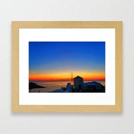 Santorini 17 Framed Art Print