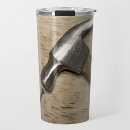 Hammerhead and Black Screw Travel Mug