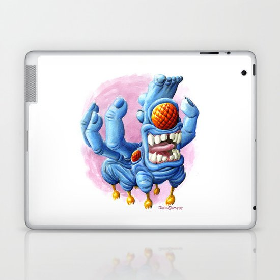 He Sure Looks Happy Laptop & iPad Skin