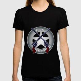US Marshal Guns and Badge T-shirt