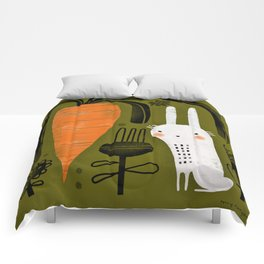 CARROT & RABBIT Comforters