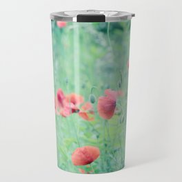 The Summer Of Poppys Travel Mug