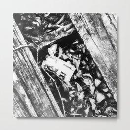 Trashed Metal Print