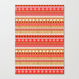 Nordic Stripe Canvas Print