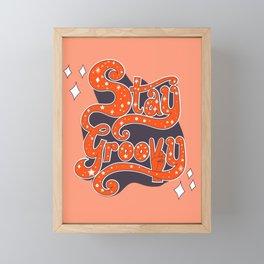 Stay Groovy Framed Mini Art Print