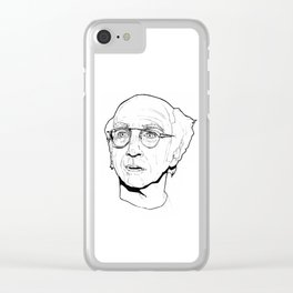 Curb your Larry David Clear iPhone Case