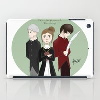 jem iPad Cases featuring Jem, Tessa, and Will by ImagineSkye