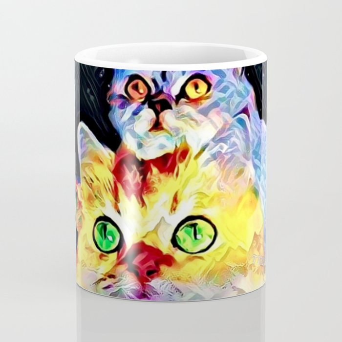 Cat Models: Timmy and Tommy Coffee Mug