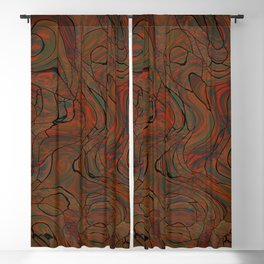 Spring Swirl Blackout Curtain