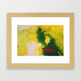 Showing the Horizon Framed Art Print