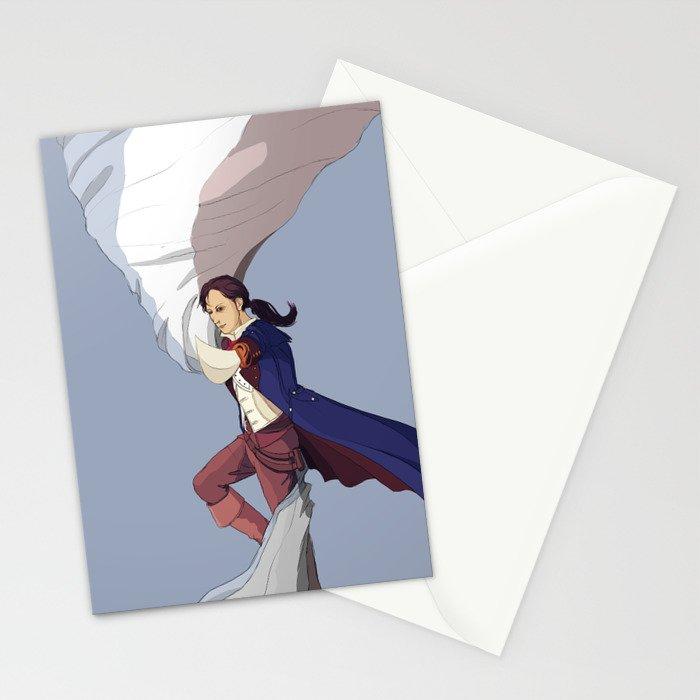 AC Unity: Arno Stationery Cards