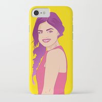 pretty little liars iPhone & iPod Cases featuring Pretty little liars - Lucy Hale by Lais Design