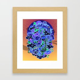 Midnignt Hunger Framed Art Print