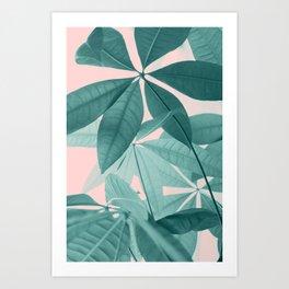 Pachira Aquatica #5 #foliage #decor #art #society6 Art Print