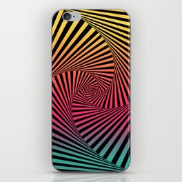 Summer Sunset Twista iPhone Skin