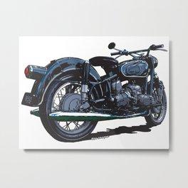 BMW R50 MOTORCYCLE Metal Print