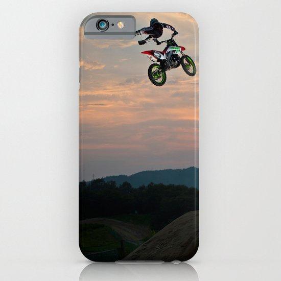 Yuuya Takano Flying at Sunset, FMX Japan iPhone & iPod Case