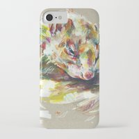 ferret iPhone & iPod Cases featuring Ferret IV by Anaïs Chesnoy