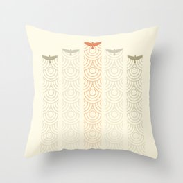Aerial Display Team Throw Pillow