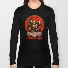 Horror movie halloween is my christmas Long Sleeve T-shirt