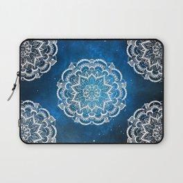 Mandala into Galactic stars Laptop Sleeve