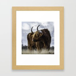 Highland Cow Framed Art Print