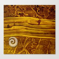 geology Canvas Prints featuring Geology 3 by Patricia Howitt