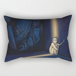 Dark Side Of Me Rectangular Pillow