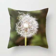 A weed. Throw Pillow