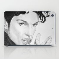 prince iPad Cases featuring PRINCE by ART FEEDS HUNGER