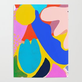 Unbridled Enthusiasm - Shapes and Layers no.38 Poster