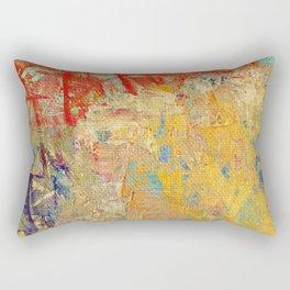 Burned Nature Rectangular Pillow
