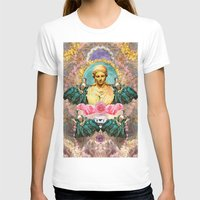 holographic T-shirts featuring softest romantic rose queen by STORMYMADE