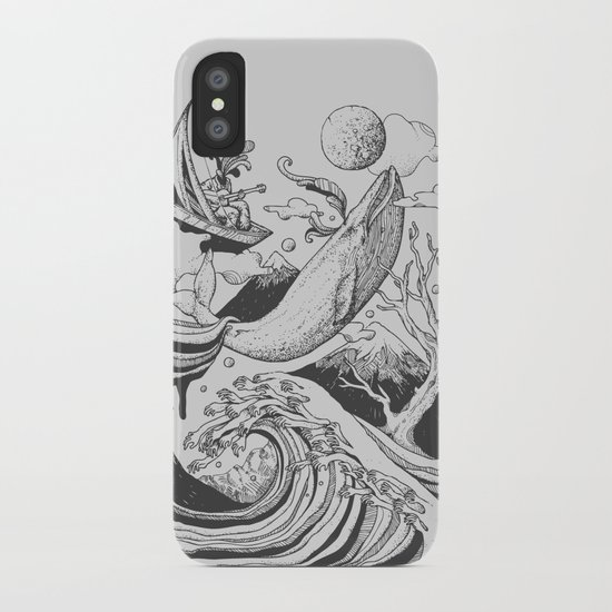Deep and Blue iPhone Case