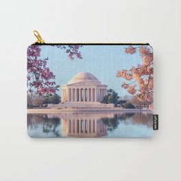 Cherry Blossoms at Jefferson Memorial in Washington DC Carry-All Pouch