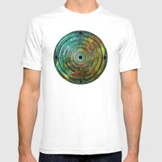 Cosmos MMXIII - 11 SMALL White Mens Fitted Tee