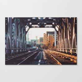 Cross Bridge Canvas Print