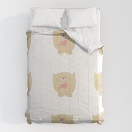Curious buddy Comforters