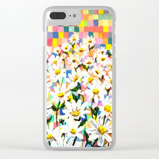 Land of Daisies Clear iPhone Case