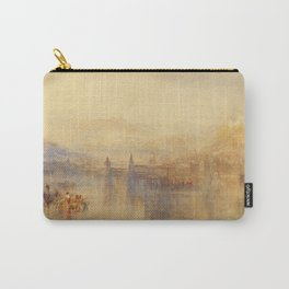 """J.M.W. Turner """"Lucerne from the Lake"""" Carry-All Pouch"""