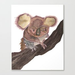 Koala Monstrosity Canvas Print