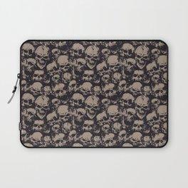 Skulls Seamless Laptop Sleeve