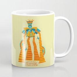 Festival Stilt Walker Coffee Mug