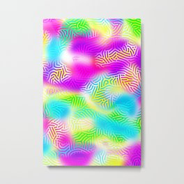 Pattern LXXXVII Metal Print