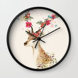Doe 1 Wall Clock